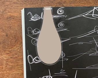 Large Au Lait Magnetic ÖliClip by Cloth & Paper x Oliblock.  (Limit 2 per customer)