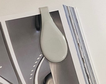Large Angora Magnetic ÖliClip by Cloth & Paper x Oliblock.  (Limit 2 per customer)