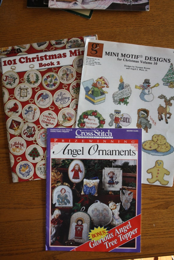 Vintage Cross Stitch Mini Motifs Book