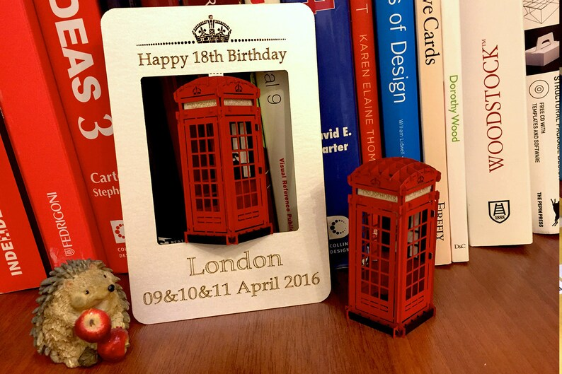 Unique Birthday Card Luxury Gift Greeting 3d Pop Up