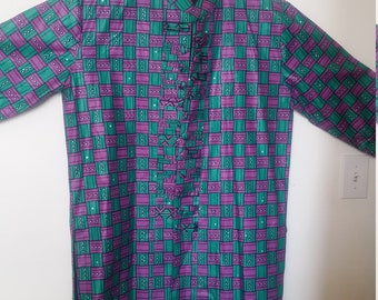 African fabric stylish jacket