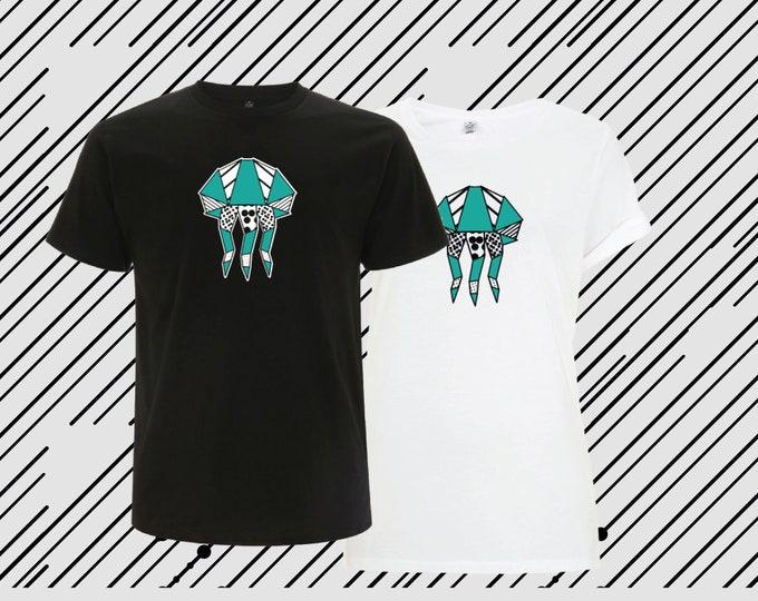 T-shirt ORIGAMI POP OCTOPUS