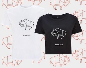 T-shirt ORIGAMI BUFFALO