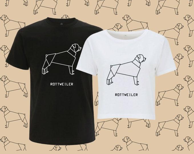 T-shirt ORIGAMI PITBULL dog