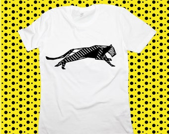 T-shirt ORIGAMI POP PANTHER