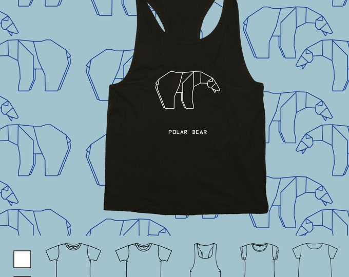 T-shirt ORIGAMI POLAR BEAR