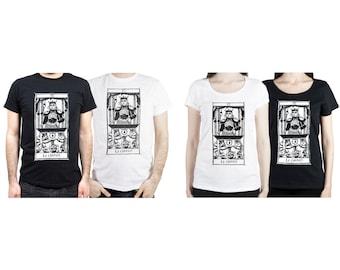 "T-shirt Le Chariot ""Tarot de Marseille"" CHARIOT Tarot cards"