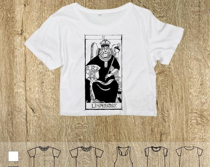 """T-shirt L'Impératrice """"Tarot de Marseille"""" Tarot The JUggling EMRATRICE, magician"""