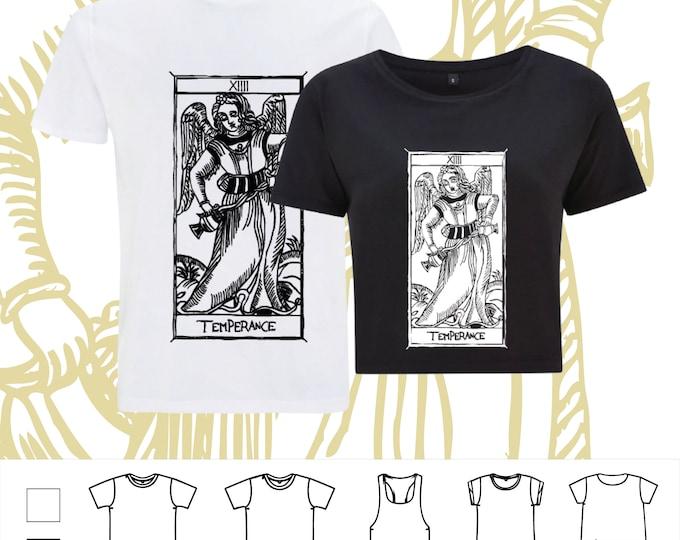 "T-shirt La Temperance Tarot de Marseille"" Tarot THE ARCAne TEMPERANCE"