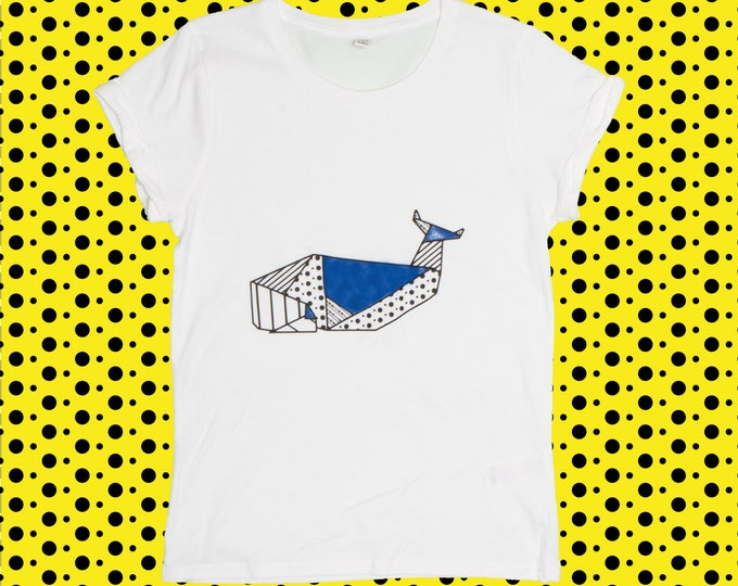 T-shirt ORIGAMI POP WHALE