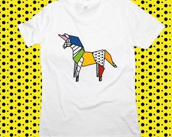T-shirt ORIGAMI POP UNICORN