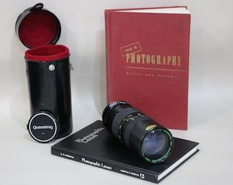 Photography Books and Camera Lens for Shelf Decor or Home Decor - Quantary Photo camera Lens | Decor for photographers
