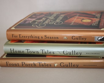 Phillip Gulley Signed Books - Front Porch Tales Hometown Tales Religious Books