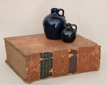 Twentieth Century American Encyclopedia 1912 Thick heavy book / Book Shelf Decor