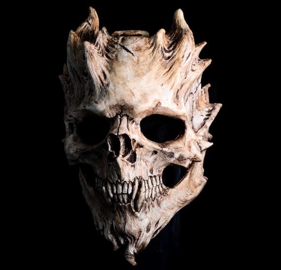 NEON Crânes Lunettes tete de mort masque d/'horreur Masque Halloween masque skull