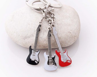 Mini Guitar Keychain Fender Stratocaster Style 2639c309f