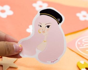 Arabella Sticker -  die cut sticker - waterproof sticker - hydroflask sticker - planner sticker - gift for friend