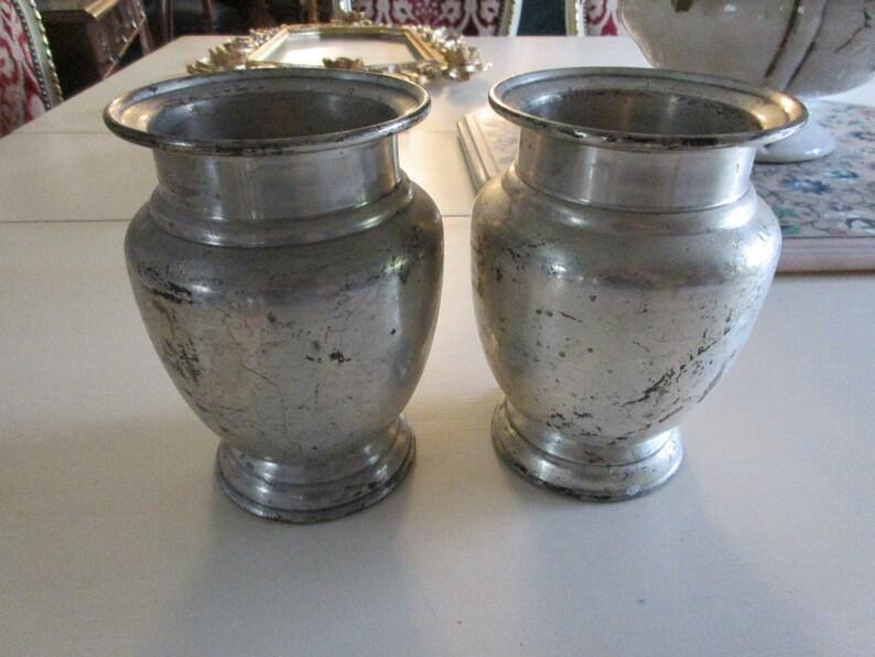 INDIA RESTORATION HARDWARE Metal Vases