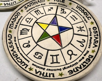 Wheel Of The Year Altar Dish