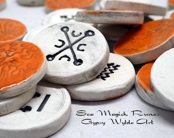 Ceramic Runes- Sea Magick