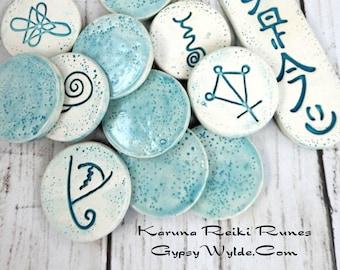 Ceramic Reiki Runes- Karuna/Usui