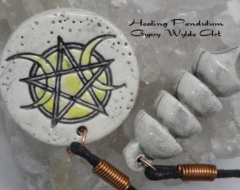 Healing Pendulum- Tri Moon Osiris