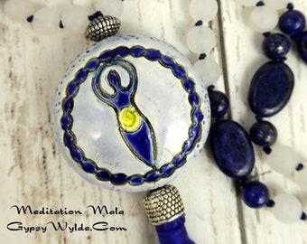 Pagan Prayer Beads- Goddesses  Lion's Gate Edition