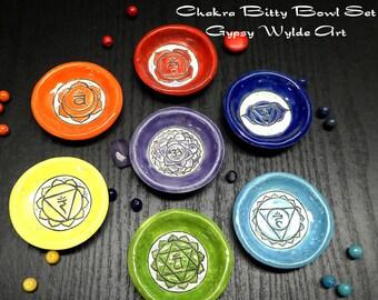 Chakra Bitty Bowl Set