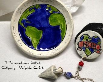 Pendulum Set- Mother Earth