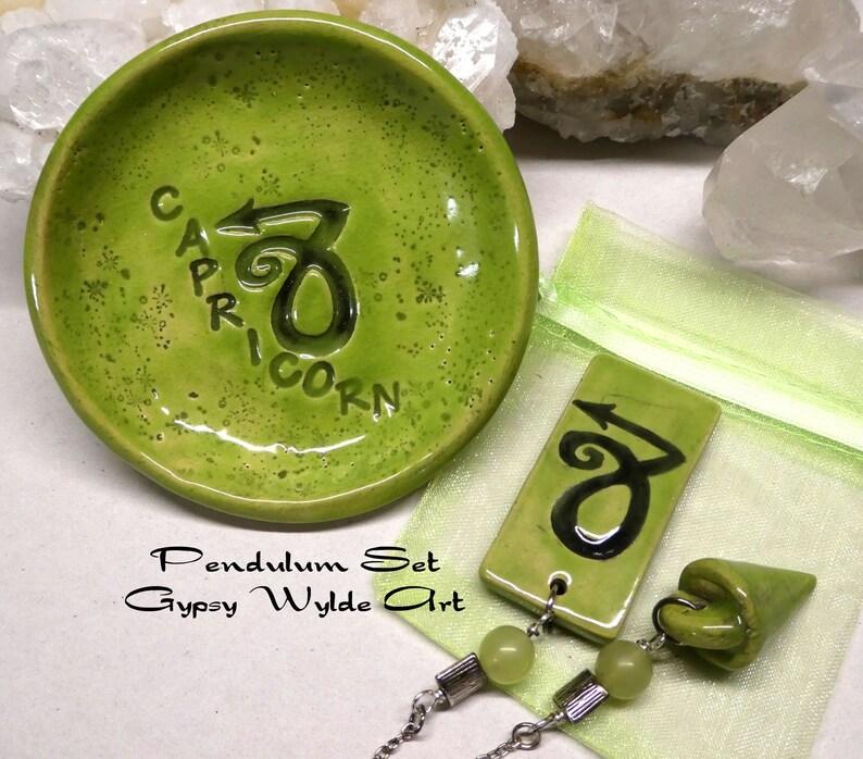 Pendulum Set Zodiac Capricorn image 0