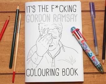 Gordon Ramsay Colouring Book