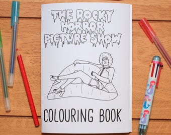 Rocky Horror Picture Show colouring book