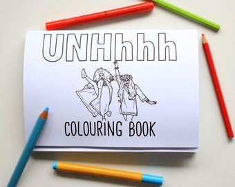 UNHhhh colouring book