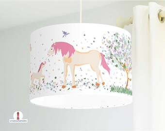 Lampe kinderzimmer kinderzimmerlampe mädchen pferde   Etsy