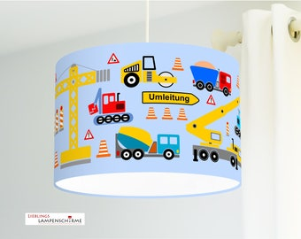 Ceiling lamp Children's room construction site