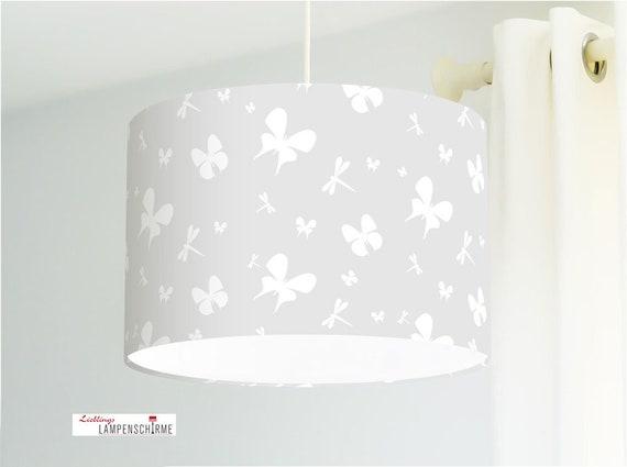 Lampe Schmetterlinge für Kinderzimmer und Babys in Grau aus | Etsy