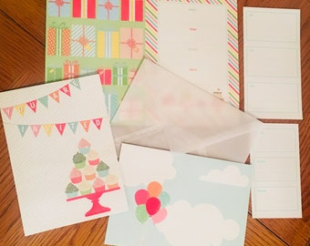 Sparkly Birthday Party Invites