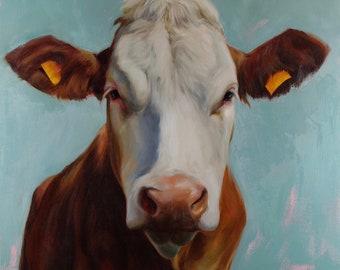 Abigail cow prints