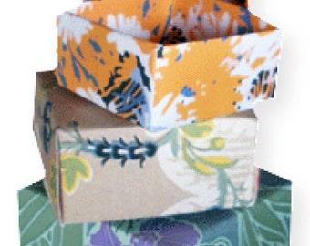 Nesting Origami Boxes