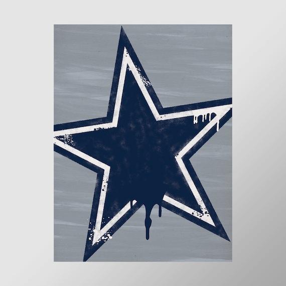Dallas Cowboys Graffiti Print Perfect For Mancave Etsy,Fractal Design Define 7 Compact Tg Light Tint
