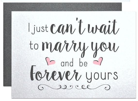 to marry you