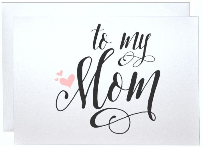 Mom Wedding Card Thank You Birthday Gift Cards Gifts