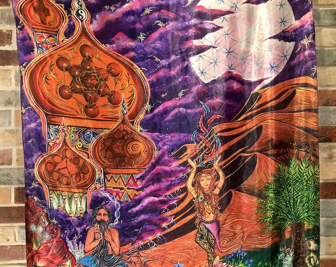 Sage And Spirit  Tapestry.