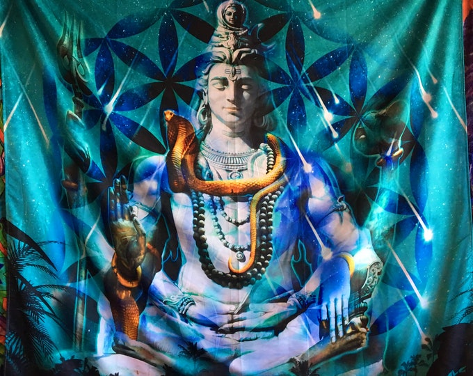 Shiva Reborn, Extra Large Tapestry
