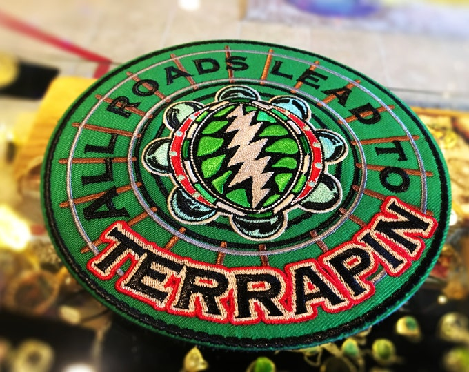 Terrapin Station Grateful Dead Stash Patch