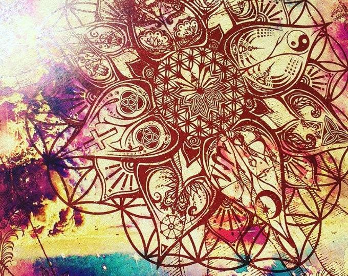 L.O.T.U.S. Art By Melanie Bodnar Enlighten Clothing Co Spiritual Art