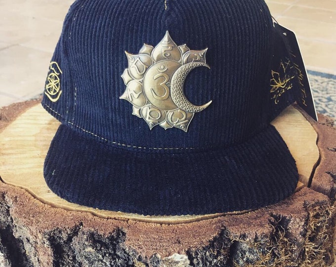 Sun And Moon Chakras Flatbrim Hat