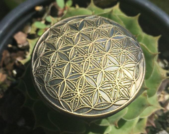Flower Of Life Hat Pin Orbital By Enlighten Clothing Co.