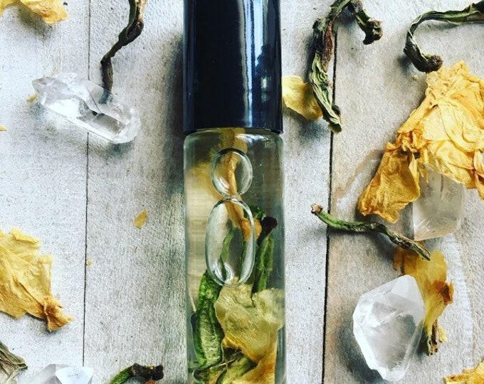 Cactus Flower Perfume Body Oil By Enlighten Clothing Co