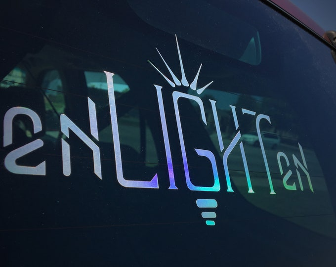 Enlighten Rainbow Decal